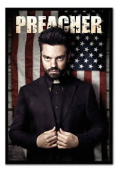 89275 Preacher Tv Series Group Magnetic Decor Laminated Poster Ca