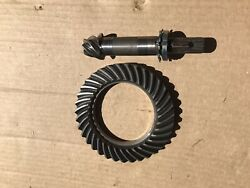 Mitsubishi Satoh Beaver Buck S373 S470 M372 Front Axle Ring And Pinion For 4x4