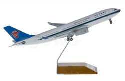 1200 30cm Jc Wings China Southern Airbus A330-200 Passenger Plane Diecast Model