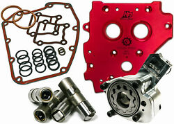 Feuling Hp+ Series Gear/chain Drive Oiling System Kit Harley Tc 07-17/dyna 2006