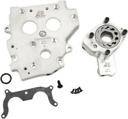 Feuling O.e.+ Oiling System Conversion Cam Plate Harley Twin Cam 1999-2006