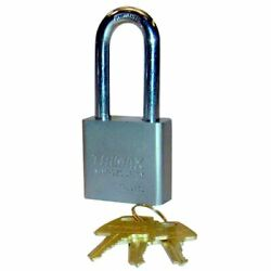 Hardened 50mm Solid Steel Square Padlock 2.25 X 10mm Shackle Trimax Tpl275l