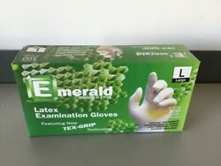Quality Large Latex Gloves Powder Free 100 Ct Fast Ship Order By 330pm Et