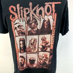 SLIPKNOT 870621345 Rare Vintage Original T Shirt Two Sided Adult Large