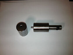 Zephyr Coin Dimple Punch And Die Assembly For Hot Dimpling 1/8 Fit Zephyr Cp 450