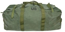 Od Green Military Style Duffel Bag - Tactical Deployment Flight And Sea Bag