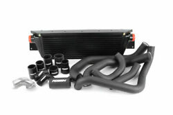 Perrin Front Mount Intercooler Fmic W/ Boost Pipings For 08-14 Wrx Black