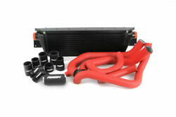 Perrin Front Mount Intercooler Fmic W/ Boost Pipings For 08-14 Sti Black