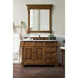James Martin Furniture Brookfield 48 Single Cabinet W/drawers Country Oak 3...
