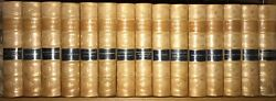 Leather Setworks Of Charles Dickens Complete 15 Vols Gilded Calfantiquarian