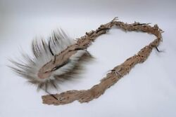 Woodland Cree Head Roach - Late 19th Century With Long Tail 60 +