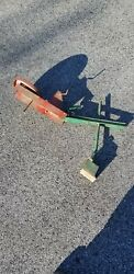 1940and039s Tru-matic Sand Digger Shovel Ride On Toy Metal Vintage