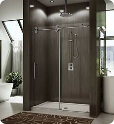 Fleurco Kt45-11-40r-y Kinetik In-line Sliding Shower Door Right And Fixed P...