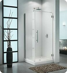 Pxq3648-25-40r-tby-79 Fleurco Platinum Cube Shower Door With Return Panel Wal...