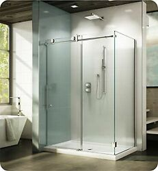 Fleurco Knwr4532-35-40r Kn Kinetik In-line 48 Sliding Shower Door Right With ...