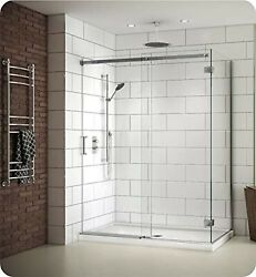 Fleurco Naw6036-25-40 Apollo 2-sided In-line Sliding Shower Door Enclosure Wi...
