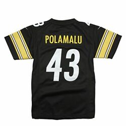 Pittsburgh Steelers Troy Polamalu 43 Nike Limited Youth Boys Small 8 Jersey