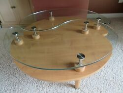 Coffee Tables Solid Wood Metal Glass Modern Contemporary Unique Curved Round