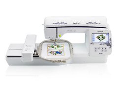 Brother Nq1600e Nq 1600 Embroidery Machine With Disney Thread And Bes2 Software