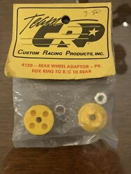 Team Cpr Custom Racing Products For120 Rear Wheel Adapter Pr Fox Rims To R/c 10