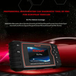 Icarsoft Eu Pro Multi System Diagnostic Scanner Tool For All 22 European Vehicle