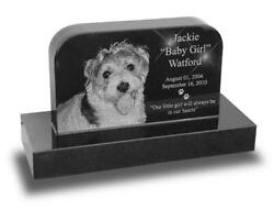 Classic Upright Pet Monument Small Custom Laser Engraved $380.00