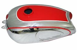 Horex Regina Petrol Gas Fuel Tank Chrome Plated And Painted Reproduction S2u