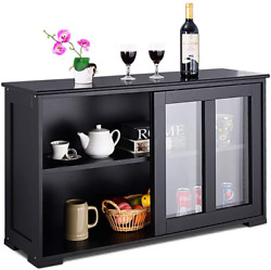 Kitchen Storage Sideboard, Antique Stackable Cabinet For Home Cupboard Buffet Di