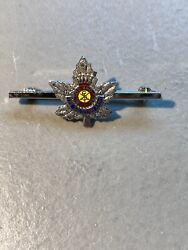 Vintage The Salvation Army Blood And Fire Enamel Pin Badge Boyd Sterling
