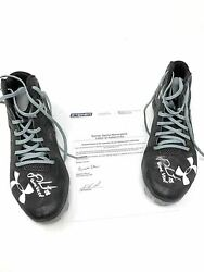 Jd Martinez Boston Red Sox Signed Autograph Game Used Under Armour Cleats Inscri