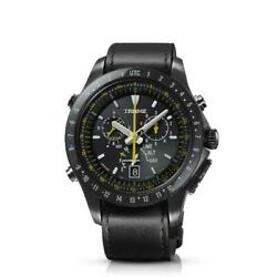 Epson Trume S Collection Menand039s Wrist Watch Airline Pilot Tr-mb5008