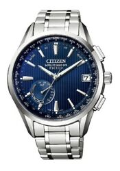 Citizen Exceed Eco-drive Gps Radio Men's Wrist Watch Cc3050-56l [free Shipping]