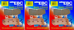 Ebc Hh Front/rear Brake Pads 3 Sets Harley Flhrc Road King Classic 2008-2016