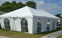 20-x-40 Frame Tent For Drive Through Or Drive By Testing