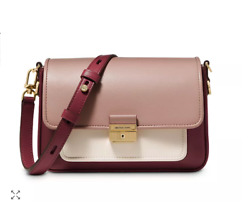 See By Chloe Tony Small Bucket Leather Shoulder Bag in Mineral Blue MSRP$375 $245.15