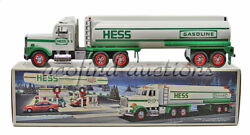 1990 Hess Gasoline Gas And Oil Toy Battery Operated Semi Tanker Truck New In Box