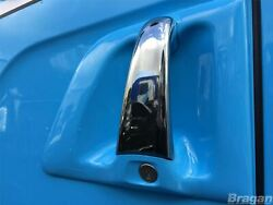 Door Handle Chrome Covers For Scania 4 R P G 6 Series Truck 2pc Stainless Steel