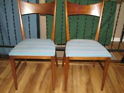Paul Mccobb Directional Bow Tie Dining Chairs Set Of Two Calvin Furniture Co