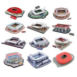 3d Stadium Model Jigsaw Puzzle Kids Educational Diy Plug Assembly Building Toys