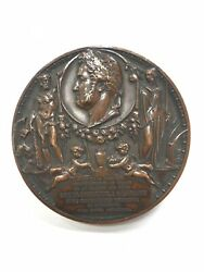 1836 France Louis Philippe Palace Of Medici Bronze Medal By A. Bovy - Paris Mint