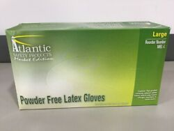 Quality Large Latex Gloves Powder Free 100 Ct Fast Ship Order By 3pm Et