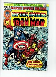 Marvel Double Feature 1 2 3 4 Captain America And Iron Man 1973 1974