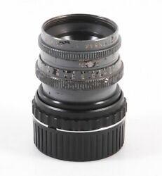 Ex+ Wollensak Fastax-raptar 50mm F/2 Military Cine Lens Modified To Leica M