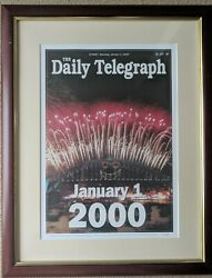 The Daily Telegraph, January 1, 2000 - Limited Edition 260, Signed By Editor