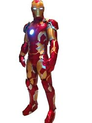 Iron Man Armor Mk43 Suit Cosplay Costume 11 Scale Read Custom Made To Order