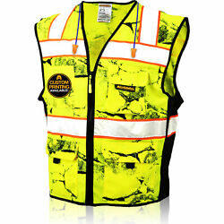 KwikSafety UNCLE WILLY#x27;S WALL High Vis Reflective ANSI Class 2 Safety Vest
