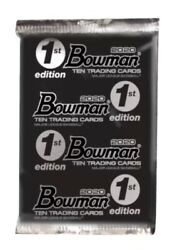 2020 Topps Bowman Baseball 1st Edition Factory Sealed Lot Of 40 Packs In Hand