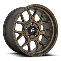 20x9 Fuel D671 Tech Bronze 33 At Wheel Tire Package 6x135 Ford F150 Tpms