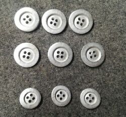 Wwi German M 1915 Blouse Buttons And Trouser Metal Buttons Set.