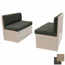 Recpro 38 Rv Fossil Cloth Dinette Booth Memory Foam Cushions Rv Furniture